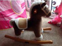 Mamas and Papas toy rocking horse