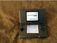 Nintendo DS console and game