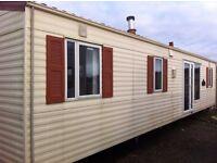 Willerby Villa FREE DELIVERY 37x12 double glazed 3 bedrooms en suite offsite static caravan over 50
