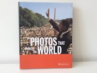 """Photos that changed the world"" book NEW"