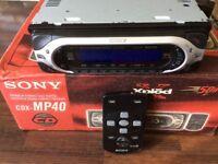 Sony CD player mp40