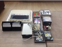 Vintage BBC Model B computer and accessories