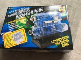 Model engine construction toy
