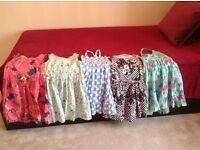Bundle of girls summer dresses age 5-6 EXCELLENT CONDITION