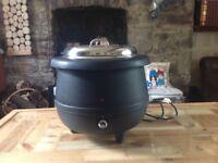 Urn kettle, soup warmer 10 litre capacity commercial