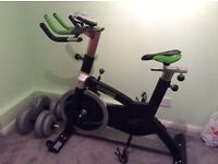 Elevation Fitness Spinning exercise bike