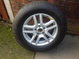Michelin 235/65 r17 and wheel BMW X5 spare