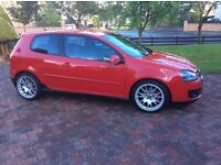 2006 Golf GTi 3door Tornado Red £4750
