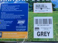 Maypole breathable caravan cover grey