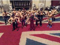 61 wrestling figures