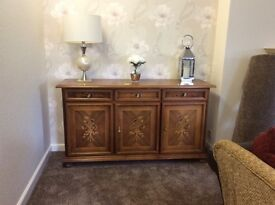 Rosewood sideboard in good condition