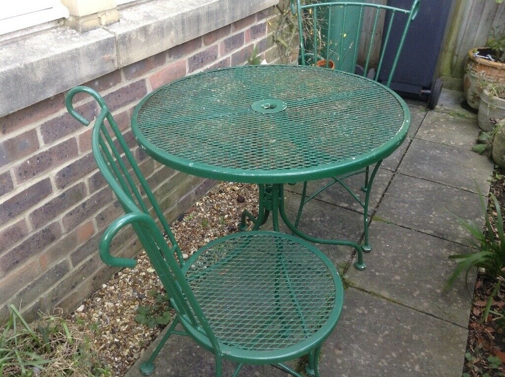 Wrought Iron Garden Patio Set