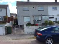 2 double bedroom unfurnished semi detached house in Crowhill