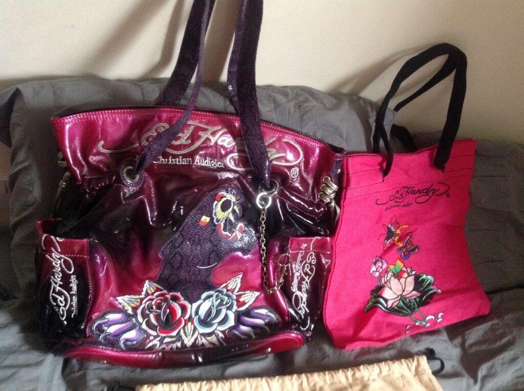 Ed Hardy By Audigier Designer Bag
