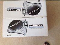 KAM belt drive usb turntable