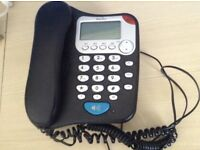 Black binatone telephone