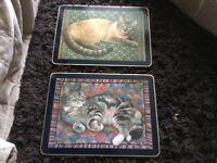 Table mats cloverleaf