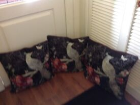 Cushions x 3 new with tags
