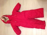 Kids snow suit age 2 years
