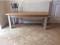 Lovely Solid Oak Kitchen Bench