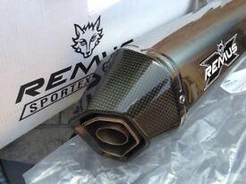 HONDA Crossstourer REMUS S/S Exhaust. As NEW!! Bargain.....