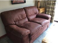 Large very comfortable 2 seater in excellent condition, new 525. Sell at £100.