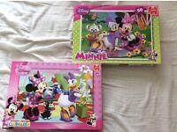 2 x Minnie Mouse Jigsaws