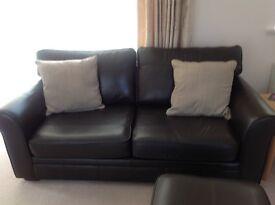 Leather Sofa (Marks & Spencer)