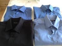 4 X long sleeved men's shirts
