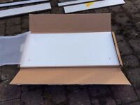WHITE GLOSS KITCHEN CUPBOARD DOORS AND DRAWERS (BRAND NEW)