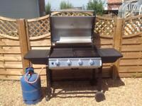 Arizona Gas Barbecue plus gas bottle and cover