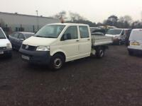 Volkswagen transporter t5 drop side pickup no vat