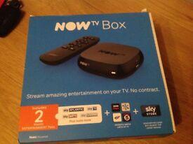 Now TV Box., BNIB