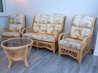 cane conservatory suite of furniture