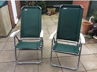 2 X camping chairs