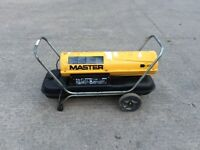 MASTER B150CED DIRECT OIL FIRED PORTABLE HEATER 44KW