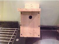 Rustic bird box