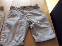 Boys shorts age 10-11