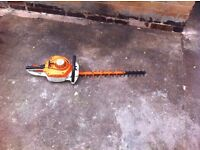STIHL HS56c HEDGE CUTTERS IN MINT CONDITION