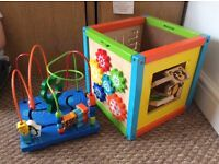 FREE. 5 in 1 activity cube