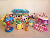 Large toy bundle - baby toddler kids - vetch ELC musical interactive