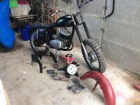 Jawa 250 559 1964 spares or repairs