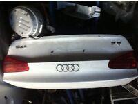Audi a4 bootlid