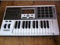 Axiom Air 25 Midi Keyboard/Drum controller for sale