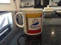 France 1998 football World Cup mug, very rare