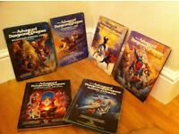 Advanced Dungeons & Dragons 1st Edition Rulebooks/Scenarios/Magazines
