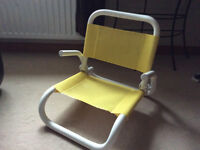 Fold Up Chair - Great for keeping in the car.
