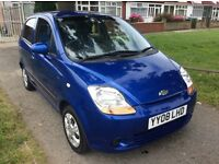 CHEVROLET MATIZ AUTOMATIC 2008 5-DOORS METALIC BLUE