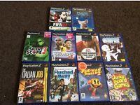 PS2 Games job lot