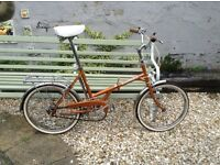 Folding Bike Bill Hargreaves of Dewsbury.